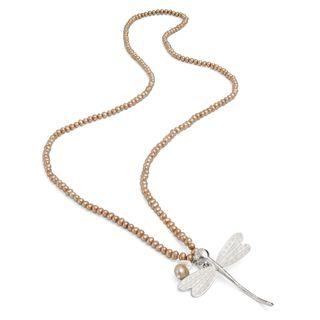 Twentiesgirldragonfly necklace