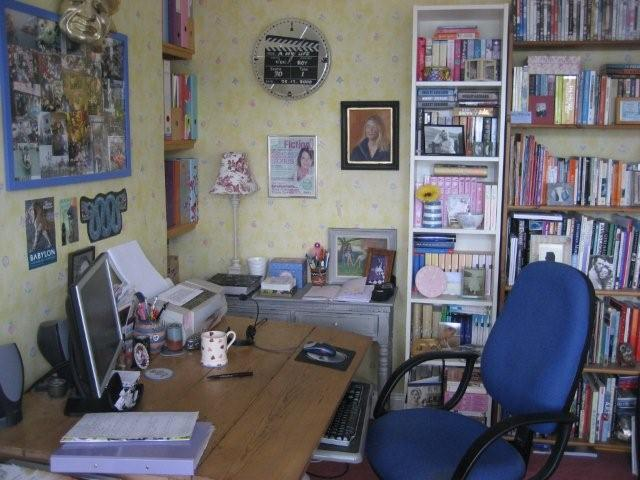 my writing room | Favorite Places & Spaces | Pinterest