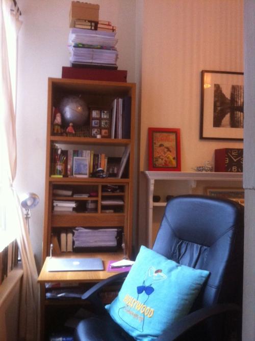 Victoria Fox writing room