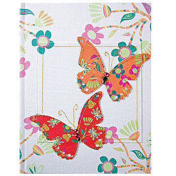 Butterly notebook