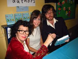 Cesca with authors