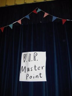 Vip muster point