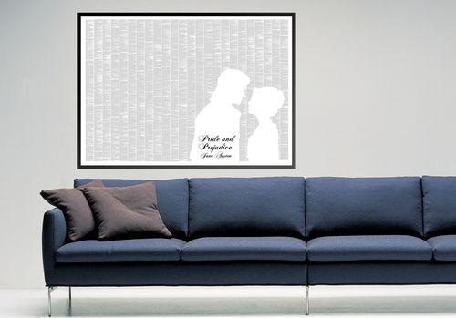 Pride and Prejudice Print from Will & Glory