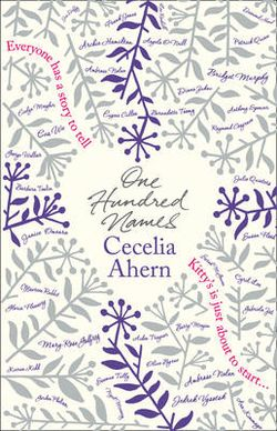 Review One Hundred Names By Cecelia Ahern Novelicious border=