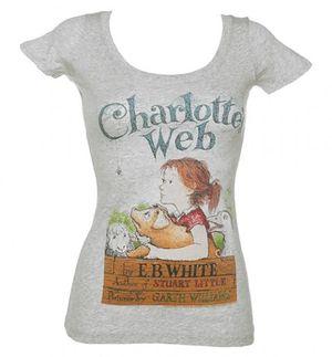 Charlottes web t shirt