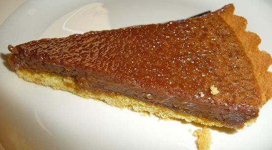 Milk Chocolate Tart