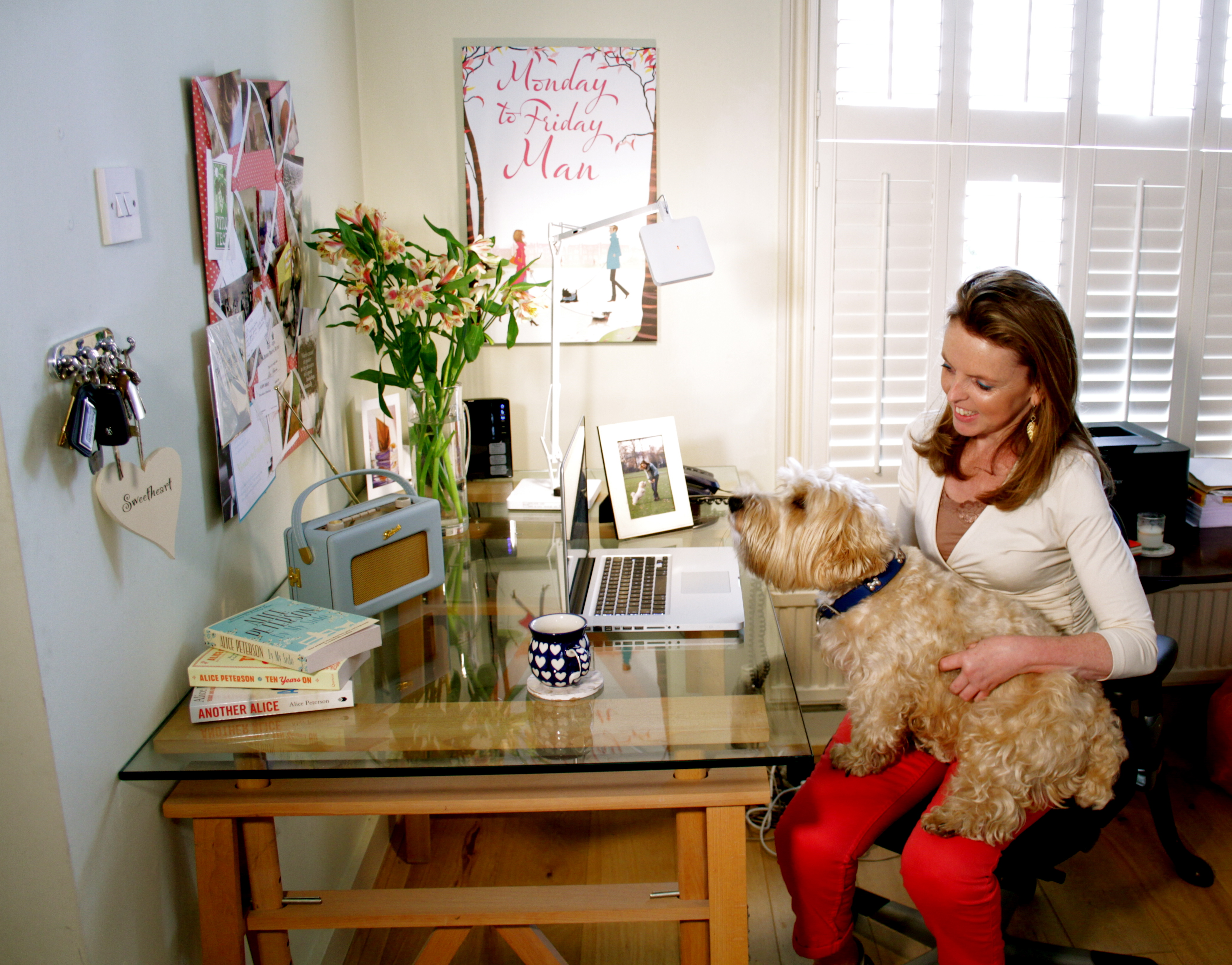 My Writing Room – Alice Peterson - Novelicious com   The