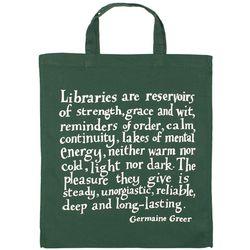 Germaine Greer Library Bag