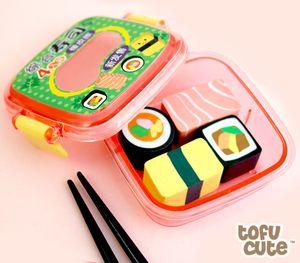 Sushi Bento Erasers