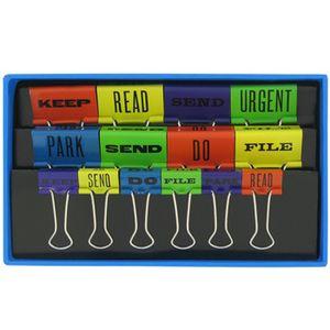 Typo binder clips