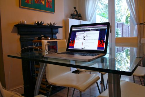 My Writing Room by Sophie Ranald