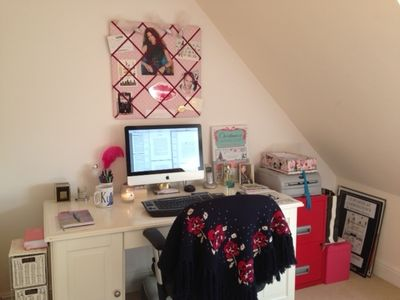 My Writing Room by Alexandra Brown