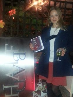 Kate Attends the Book Launch of Half Bad by Sally Green