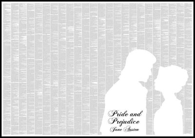 Pride and Prejudice Spineless Classics Print