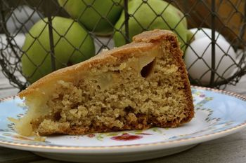 Apple Cake from Calling Mrs Christmas by Carole Matthews