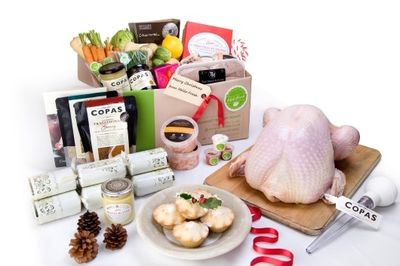 The Christmas Box from Hello Fresh
