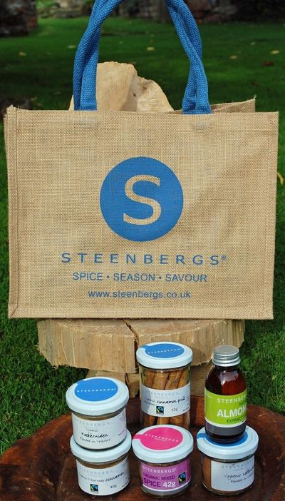 Christmas Baking Hamper from Steenbergs Organic