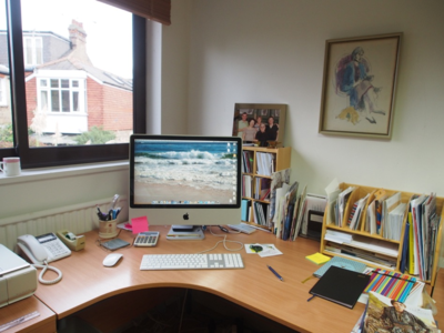 Jill Paton Walsh's Writing Room