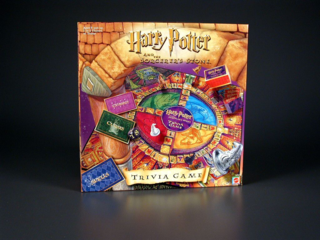 Harry Potter The Sorcerer's Stone Trivia Game