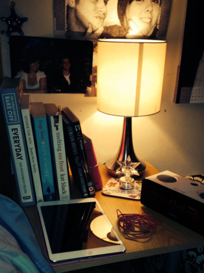Erin's Bedside Table