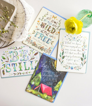 Be Still Greeting Card Set