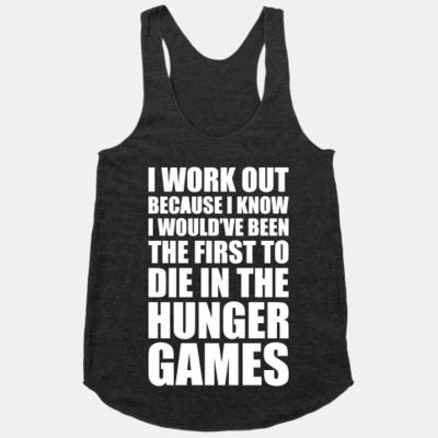 Hunger Games Workout Tank