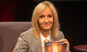 JK Rowling at the Harrogate Crime Writing Festival