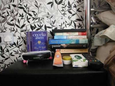 Sam's Bedside Table