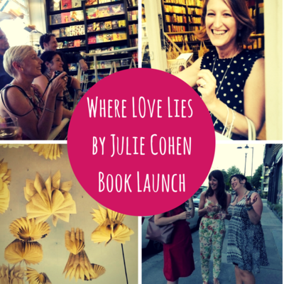 Novelicious Goes To...The Launch of Where Love Lies by Julie Cohen