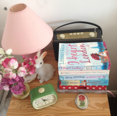 Heidi-Jo Swain's Bedside Table