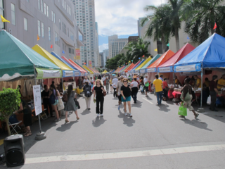 Miami Book Fair by Jeffrey Guterman