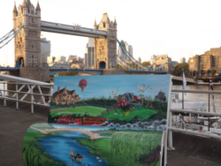 Wind in the Willows BookBench