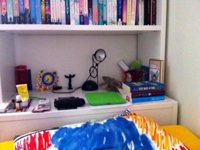 Simona's Bedside Table
