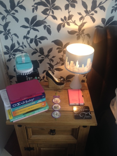 Rea's Bedside Table
