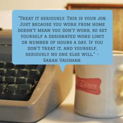 Sarah Vaughan's Writing Tips