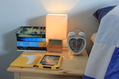 Steph's Bedside Table