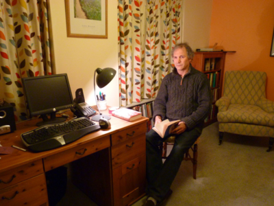 Keir Alexander's Writing Room