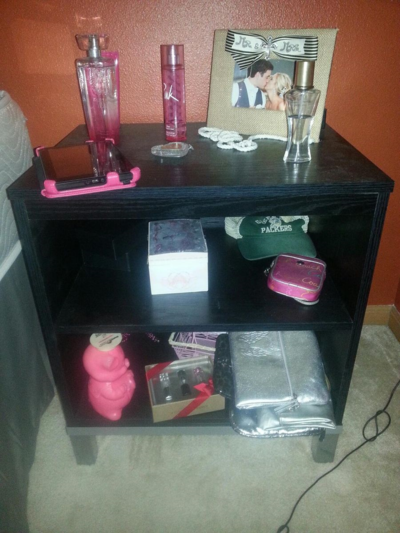 Samantha's Bedside Table