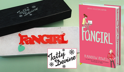 Fangirl Necklace from Tatty Devine