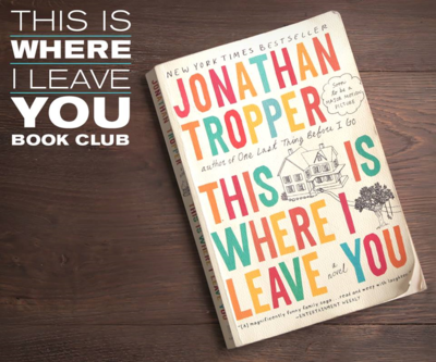 This is Where I Leave You Book Club