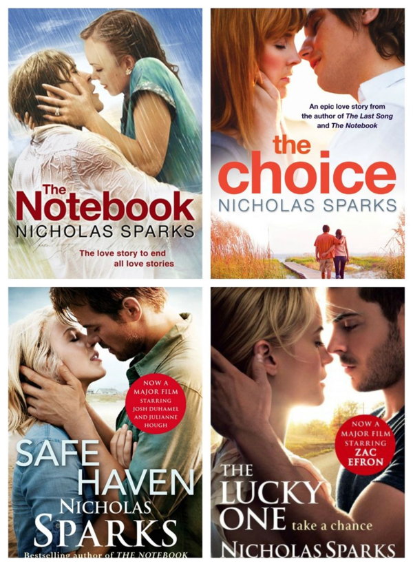 win a nicholas sparks book bundle com the com the women s fiction blog for readers and writers