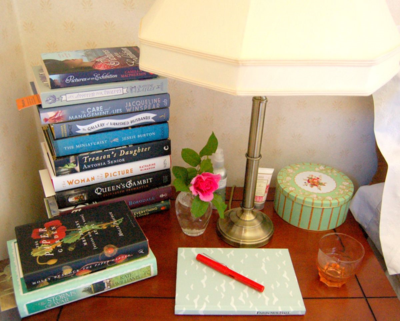 Margaret's Bedside Table