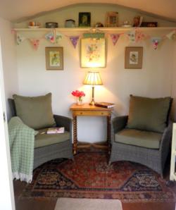 Margaret's Summer House for Reading