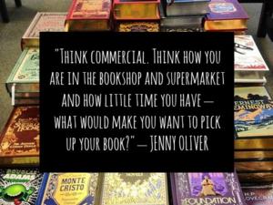 Jenny Oliver's Writing Tips