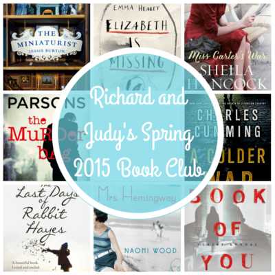 8 Cracking Titles Announced for Richard and Judy's Spring 2015 Book Club