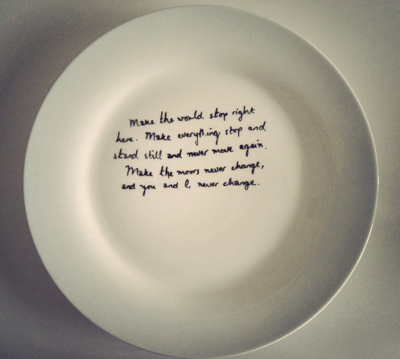 Wuthering Heights Plate