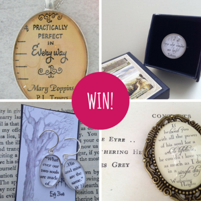 Win! Your Pick of Literary Jewellery from Scribbelicious!