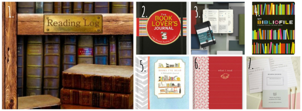 Bookish buys reading journals