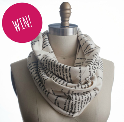 Win Storiarts Literary Scarf