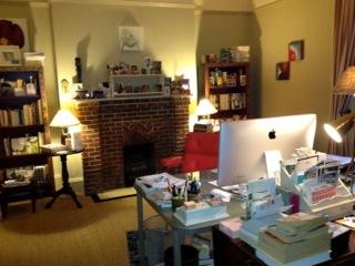Judith Kinghorn's Writing Room